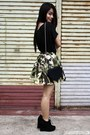 Black-wagw-bag-green-tangerine-skirt-black-papaya-clothing-top