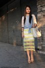 Off-white-forever-21-bag-light-yellow-mesh-wagw-skirt