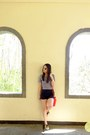 Red-chloe-and-davis-bag-black-high-waist-its-all-about-hue-shorts