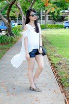 white high low WAGW top