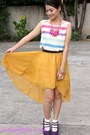 Esprit-socks-dress-from-bazaar-top-celine-necklace-from-bazaar-heels