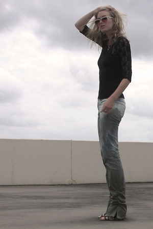 H&M shirt - Zimmerman jeans