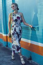 secret squirrel dress - asos bag - asos sunglasses - gmarket heels