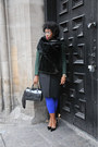 Dark-green-wool-other-stories-coat-black-pvc-furla-purse