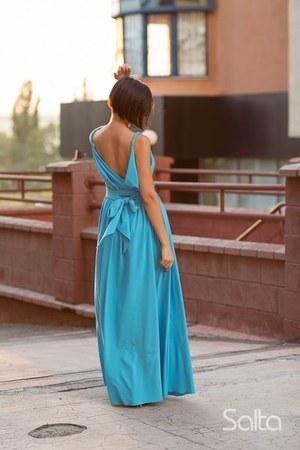 sky blue Salta dress