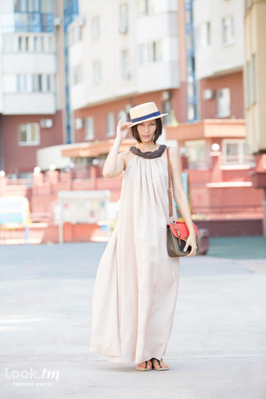 Salta dress - asos hat - Michael Kors flats