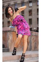lanvin for HM dress - asos sandals - asos gloves