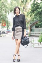 Mexx bag - Mexx blouse - Mexx skirt