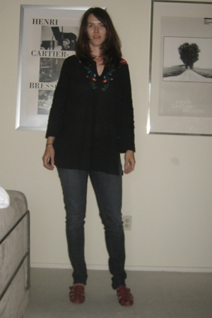 Charlotte Russe jeans - thrifted shirt - azalea shoes