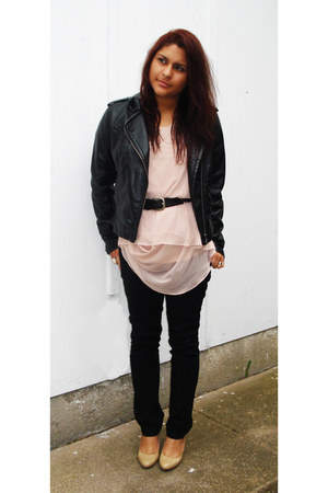 Express jacket - vera wang shirt