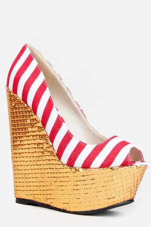 Red Kiss pumps