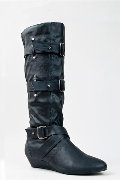 black Madden Girl boots