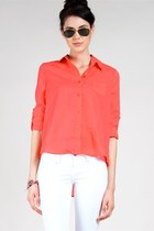 coral Blu Pepper blouse