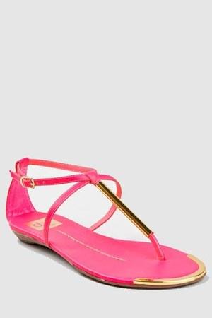 hot pink Dolce Vita sandals