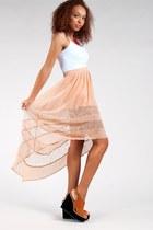 Nude-lush-skirt