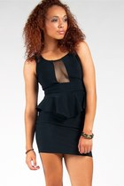 black sole mio dress