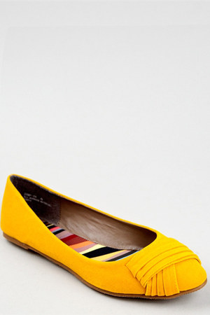 yellow Bamboo flats