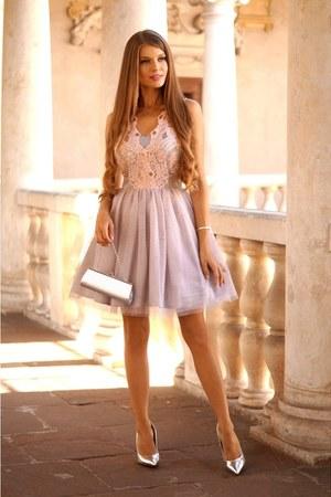 peach Sheinside dress