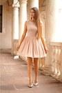 Peach-illuminate-dress