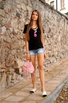 pink zaful bag