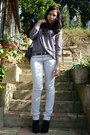 Black-wedges-topshop-boots-off-white-jeans-silver-top