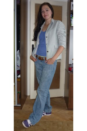 il dolce jeans - Secondhand blazer - sneakers