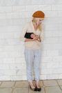 Silver-vintage-pants-marcucci-shoes-beige-renner-blazer