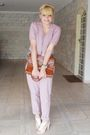 Pink-laysa-rosa-pants-pink-rr-shoes-shoes-brown-vintage-bag