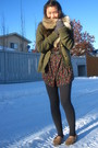 H-m-scarf-american-eagle-cardigan-forever-21-blouse-american-apparel-leggi