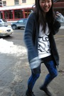Talula-cardigan-h-m-sweater-betsy-johnson-tights-american-eagle-gloves
