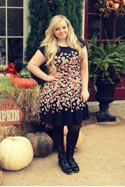 Lauren Conrad Dresses Black Topshop Boots Black American Apparel