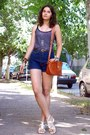 Heather-gray-owl-necklace-tawny-thrifted-purse-navy-thrifted-shorts