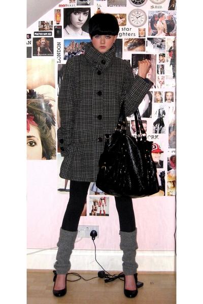 Topshop coat - Primark leggings - American Apparel socks - Topshop accessories