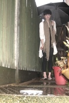Gap top - H&M vest - River Island shoes - Topshop scarf - Primark leggings