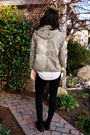 Beige-diesel-kids-jacket-brown-forever-21-shirt-gray-forever-21-shirt-blac