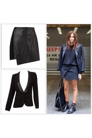 black Sportsgirl blazer - black Sportsgirl skirt