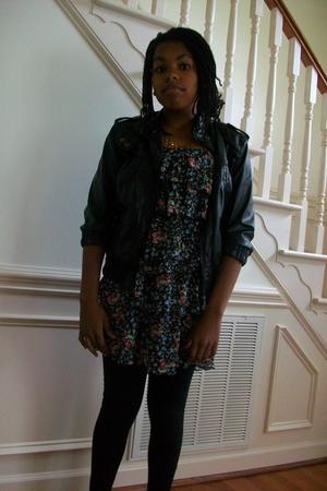 Target dress - Ross jacket - Forever 21 necklace