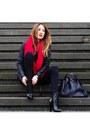 Black-leather-alexander-wang-boots-black-denim-zara-jeans