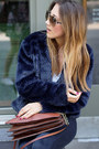 Black-suede-minelli-boots-navy-fake-fur-esprit-coat-black-denim-zara-jeans