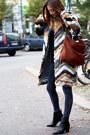 Black-acne-boots-brick-red-urbancode-coat-dark-gray-zara-jeans