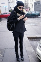 UrbanOG shoes - ebayh&m coat - H&M hat - ioffer sunglasses - Ebay pants