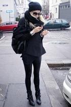 UrbanOG shoes - ebayh&m coat - H&M hat - ioffer sunglasses - Ebay pants