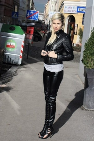 Ebay jacket - aa shirt - f21 pants - GoJane shoes - ebayf21 accessories