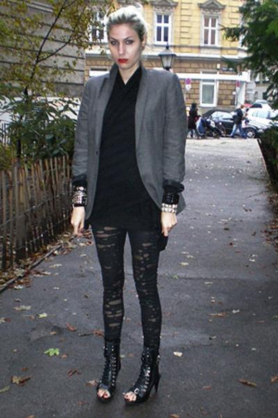 h&m mens blazer - f21 sweater - Etsy pants - Ebay shoes - ebayf21 accessories
