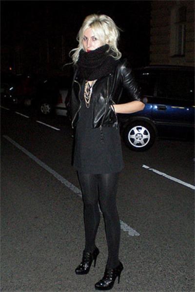 aa dress - Colin Stuart shoes - ebaycouk jacket - H&M scarf