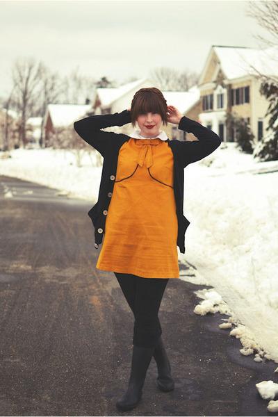 orange Dear Creatures dress
