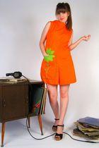 Orange-vintage-dress