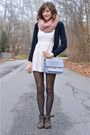 Short-lace-h-m-dress-pink-forever-21-scarf
