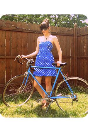 blue Target dress
