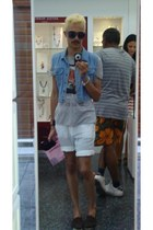 Jack Jones bracelet - Tiffany & Co bracelet - Zara shorts - Topman t-shirt